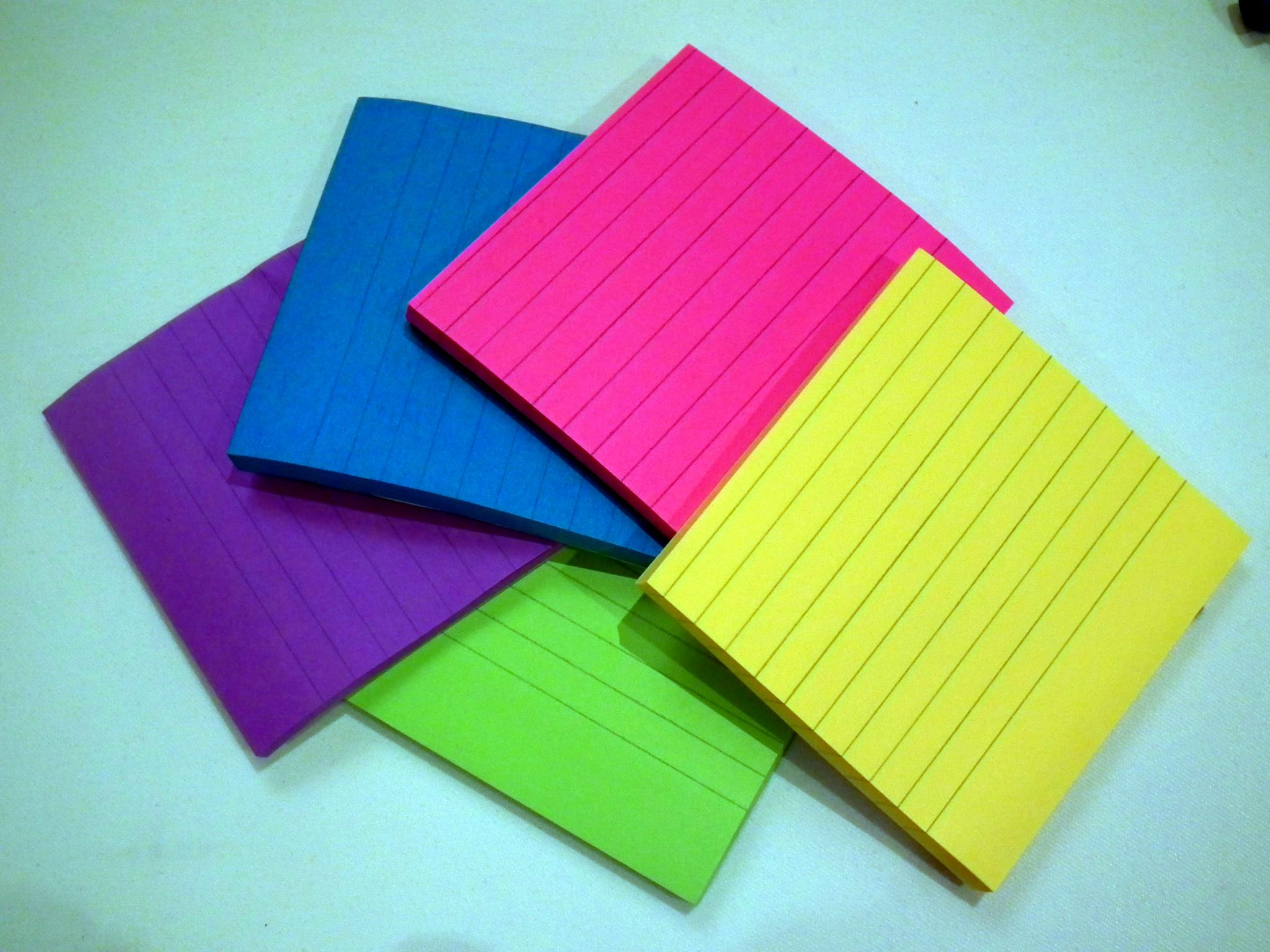 Sticky-Note Picture Book Dummy Template